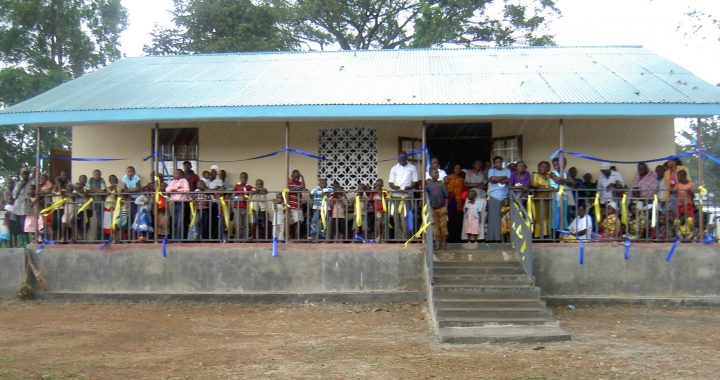 Busamage health centre opnened